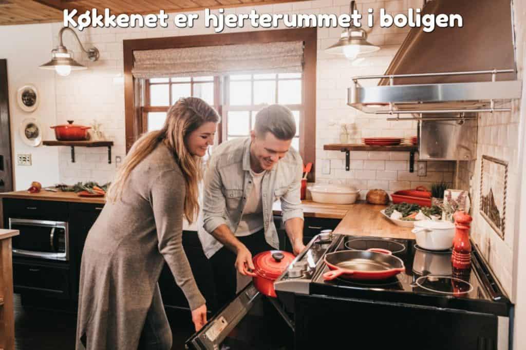 Køkkenet er hjerterummet i boligen